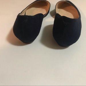 Nine West Shoes - Navy Blue Suede Nine West Flats sz 5